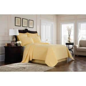 Williamsburg Richmond Yellow King Coverlet Set
