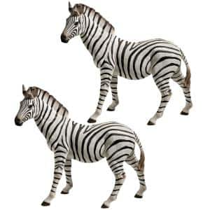 Zora the Zebra Statue Set (2-Piece)