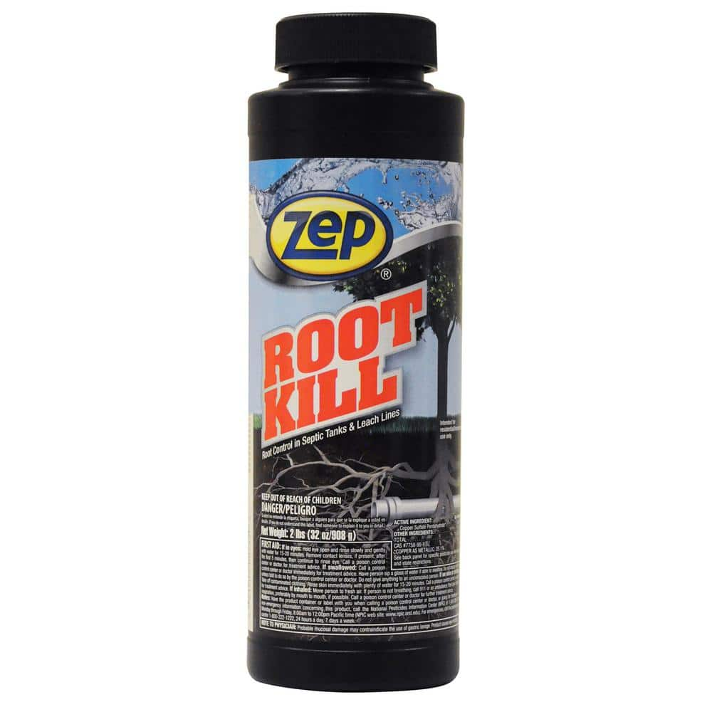 Zep 32 Oz Root Kill Zroot24 The Home Depot