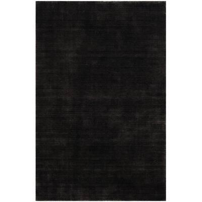 Himalaya Black 5 ft. x 8 ft. Area Rug