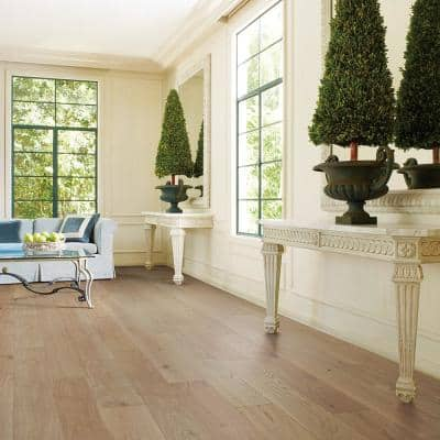 French Oak Crown 3/8 in. Thick x 6-1/2 in. Wide x Varying Length Engineered Click Hardwood Flooring (23.64 sq.ft./case)