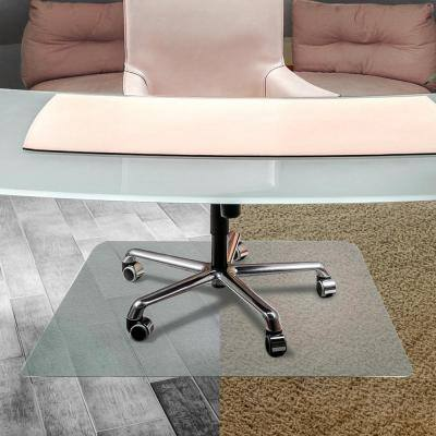 Unomat® Anti-Slip Rectangular Chair Mat Hard Floors and Carpet Tiles - 35 x 47 in.