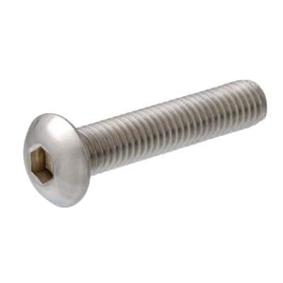 1/4 in. x 7/8 in. Internal Hex Button-Head Cap Screws (2-Pack)