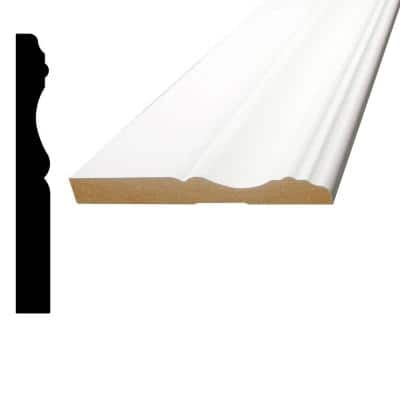 1/2 in. x 4-1/8 in. x 96 in. MDF Primed Fiberboard Base Moulding