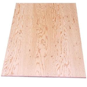 Sheathing Plywood (Common: 15/32 in. x 4 ft. x 8 ft.; Actual: 0.438 in. x 48 in. X 96 in.)