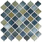 Hudson Tangier Atlantis 12 in. x 12 in. Porcelain Mosaic Tile (10.96 sq. ft. / Case)