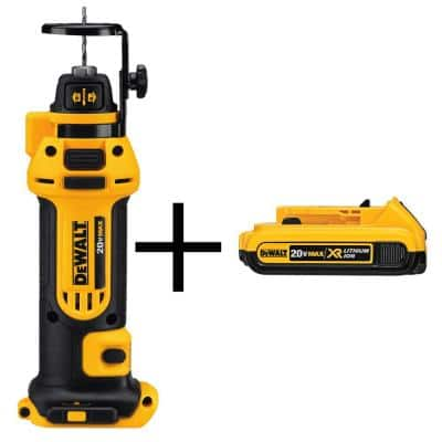 20-Volt MAX Cordless Drywall Cut-Out Tool with (1) 20-Volt Battery 2.0Ah