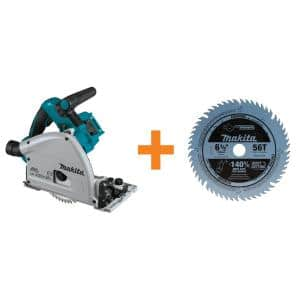 18-Volt X2 LXT(36-Volt) Brushless 6-1/2 in. Plunge Circular Saw with Bonus 6-1/2 in. 56T Carbide-Tipped Plunge Saw Blade