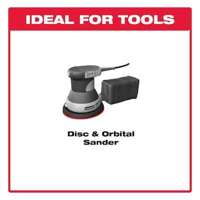 6 in. 800-Grit 15-Hole Sanding Disc with Hook 'n Loop Backing (50-Pack)
