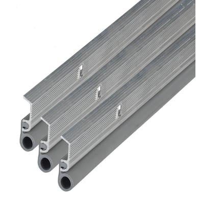 7/8 in. x 84 in. Aluminum Door Jamb Top and Side Weatherstripping Set