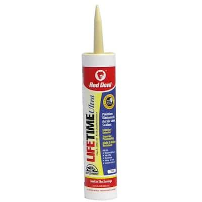 Ultra 10.1 oz. Cedar Tan Acrylic Latex Caulk