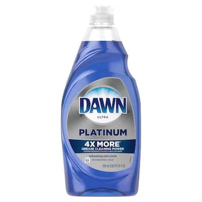 24 oz. Ultra Platinum Refreshing Rain Scent Dish Soap