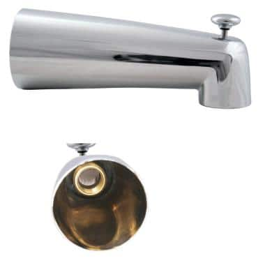7 in. Diverter Tub Spout, Polished Chrome