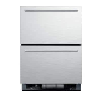 4.8 cu. ft. Mini Refrigerator in Stainless Steel