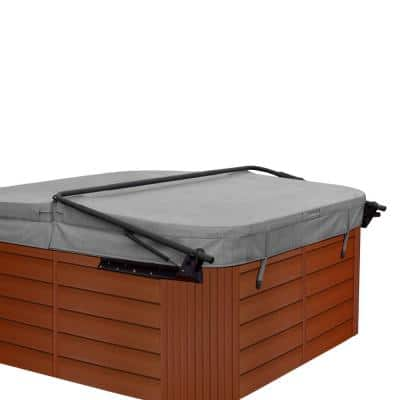 Flex Corner Spa/Hot Tub Cabinet Replacement Kit in American Cherry