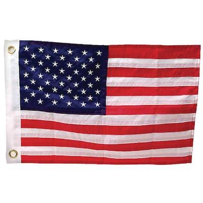 12 in. x 18 in. Deluxe Sewn U.S. Flag