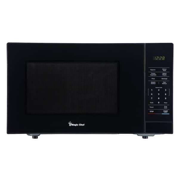 ft Magic Chef HMM1110B 1.1 cu Countertop Microwave Black