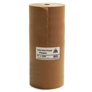 Easy Mask 18 IN. X 1000 FT. Brown General Purpose Masking Paper