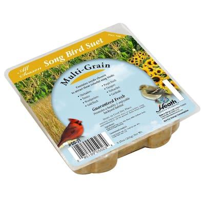 9.25 oz. Multi-Grain Suet Cake (12-Pack)