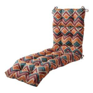 22 in. x 72 in. Surreal Outdoor Chaise Lounge Cushion