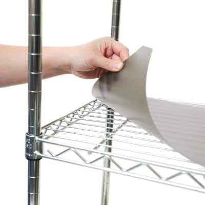 29.5 in. x 13.3 in. 2 Individual Fitted Shelf Liners for Wire Shelves