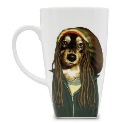 "20 oz. ""Reggae"" Collectible Fine Bone China Mug"