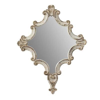 Medium Irregular Clear Mirror (29.9 in. H x 23.4 in. W)