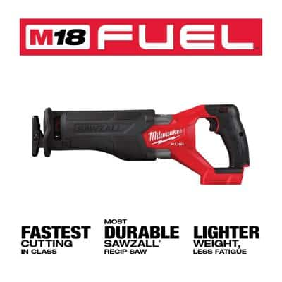 M18 FUEL GEN-2 18-Volt Lithium-Ion Brushless Cordless SAWZALL Reciprocating Saw (Tool-Only)