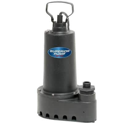 1/2 HP Submersible Cast Iron Utility Pump