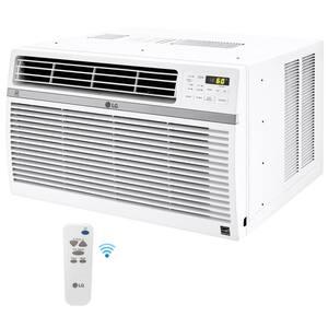 15,000 BTU 115-Volt Window Air Conditioner LW1521ERSM with WiFi in White