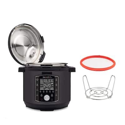 8 qt. Matte Black Duo Pro Electric Pressure Cooker