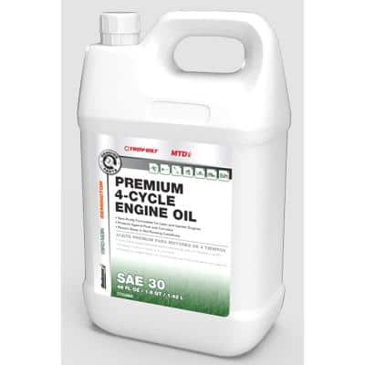 48 oz. SAE 30 Premium 4-Cycle Engine Oil Specifically Formulated for Lawn and Garden Engines