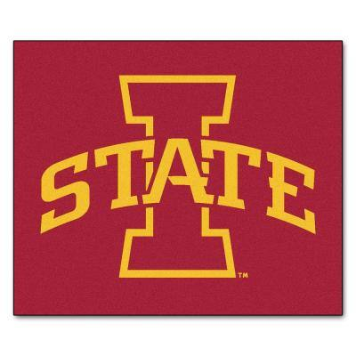 Iowa State University 5 ft. x 6 ft. Tailgater Rug