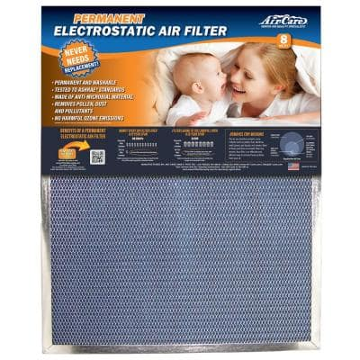 20 in. x 20 in. x 1 in. Permanent Electrostatic Air Filter FPR 7