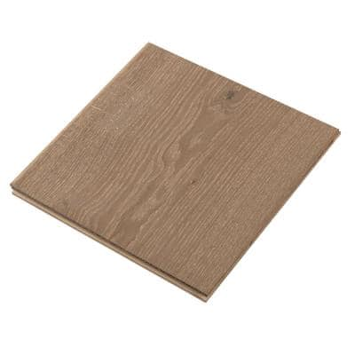 Take Home Sample - Meritage Mendocino Oak Extra W Engineered TG Hardwood Flooring - 9-1/2 in. x Varying Length