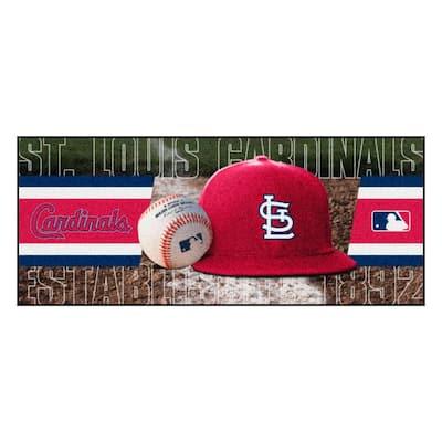 St. Louis Cardinals 3 ft. x 6 ft. Baseball Runner Rug