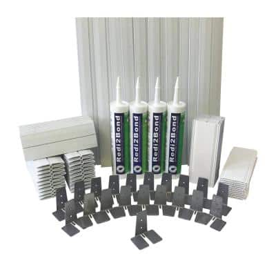3 in.Thick Series Silicone System Glass Block Installation Kit (40 Block Kit for 8 in. x 8 in. x 3 in. or Smaller Block)
