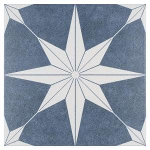 Stella Day Encaustic 9-3/4 in. x 9-3/4 in. Porcelain Floor and Wall Tile (11.11 sq. ft. / case)