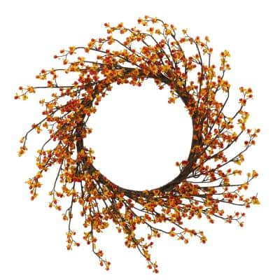 24 in. Sweet Bitter Wreath