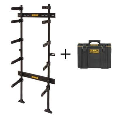 TOUGHSYSTEM 25-1/2 in. Workshop Racking Storage System with TOUGHSYSTEM 2.0 22 in. Extra Large Tool Box