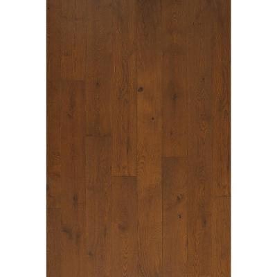 Euro White Oak Pueblo 9/16 in. Thick x 8.66 in. Wide x Varying Length Engineered Hardwood Flooring (31.25 sq. ft./case)