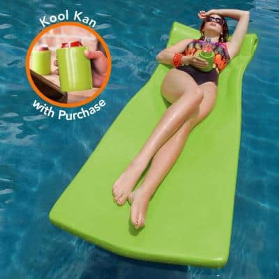 Kool Float with Kool Kan Lime Pool Float