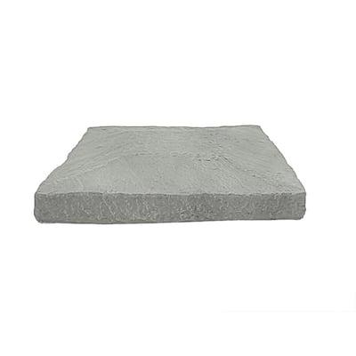13.5 in. x 13.5 in. Northern Slate Faux Stone Flat Pillar Cap Siding