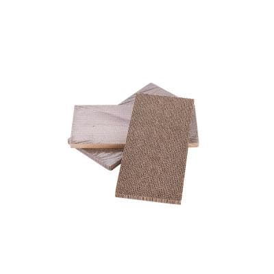 Brown Replacement Corrugated Cardboard Scratch Pads for Kitty Kube
