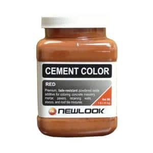 1 lb. Red Fade Resistant Cement Color