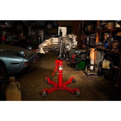 1000 lbs. Air and Hydraulic Telescopic Transmission Jack