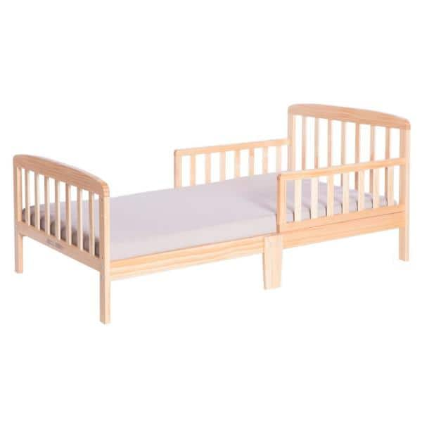 Bold Tones Classic Wooden Girls Boys Toddler Kids Bed Frame with