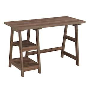 Designs2Go 47 in.(W) Cappuccino Trestle Desk