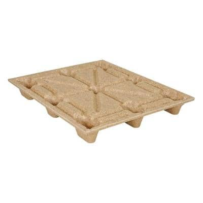 48 in. x 40 in. Recycled Presswood Nestable Pallet