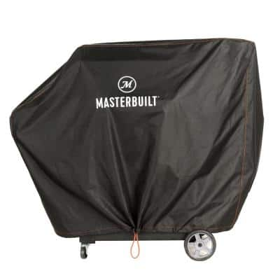 Gravity Series 1050 Digital Charcoal Grill Plus Smoker Cover in Black